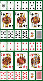 Spade and Heart suit. Full deck with #12877129 vector illustration