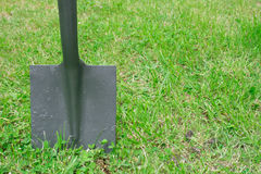 Free Spade In The Ground Royalty Free Stock Image - 1549826
