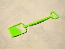 spade na plaży Fotografia Stock