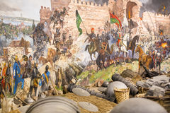 Spadek Constantinople Zdjęcia Stock