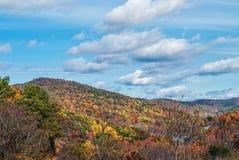 Spadek góry krajobraz Fotografia Stock