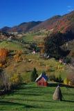 spadek krajobrazowy Romania Fotografia Stock