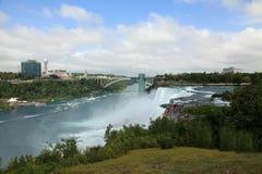 spadek Niagara parkowy stan Fotografia Stock