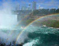 spadek Niagara parkowy stan Zdjęcia Royalty Free