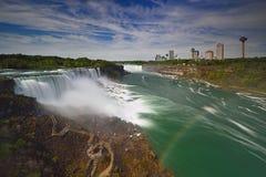 spadek Niagara parkowy stan Zdjęcia Stock