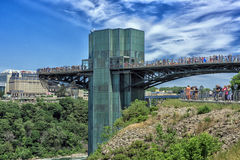 spadek Niagara parkowy stan Zdjęcie Stock