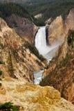 spadek obniżają Yellowstone Obraz Stock