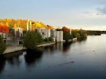 spadek rzeka Obraz Royalty Free