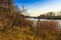 Spadek rzeka Fotografia Stock