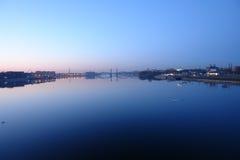 spadek rzeka Zdjęcia Royalty Free