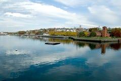 Spadek rzeka, Massachusetts Fotografia Stock