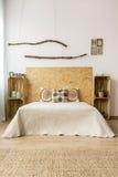 Spadek sypialni wystroju pomysł zdjęcia stock