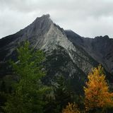 Spadek w górach Fotografia Stock