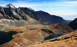 spadek wysokich gór tatras Zdjęcia Royalty Free