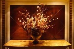 spadek wysuszeni kwiaty Obrazy Stock