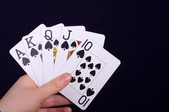 Spades Stock Images