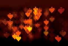 Spades shape lights background. Card spades shape lights background royalty free stock images