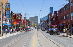 Spadina Avenue Toronto Royalty Free Stock Images