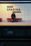 Spadina gångtunnelstation Fotografering för Bildbyråer