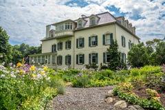 Spadina House and Sunny Garden Toronto Royalty Free Stock Images