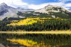 Spadków kolory Kolorado ` s Ohio Przechodzą Obrazy Royalty Free