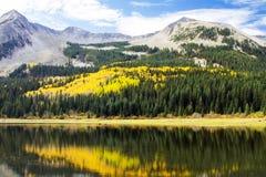 Spadków kolory Kolorado ` s Ohio Przechodzą Zdjęcia Stock