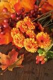 Spadków kwiaty Obrazy Stock