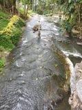 7 spadków rzeczny Sarangani Filipiny zdjęcie royalty free