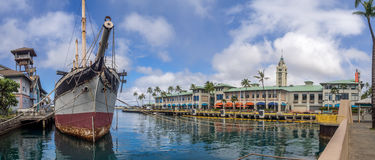 Spadki Clyde na Sierpień 6, 2016 w Honolulu schronieniu Zdjęcia Stock