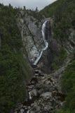 Spadki przy Marmurowym Mountian ośrodkiem narciarskim Zdjęcie Stock