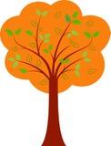 Spadku drzewa ilustracje Zdjęcie Stock
