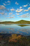 spadku jezioro Zdjęcia Royalty Free