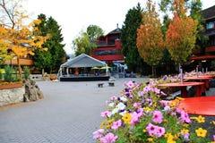 Spadku kolor w Whistler, BC, Kanada Obraz Stock