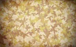 Spadku liścia tekstury jesieni tło Obraz Royalty Free