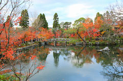Spadku ulistnienie przy Eikando TempleZenrin-ji, Sakyo-ku, Kyoto, Japan Obrazy Stock