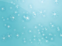 spadnie śnieg Zdjęcia Royalty Free