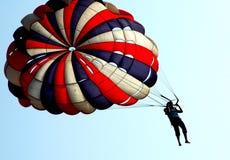 spadochron zdjęcie stock