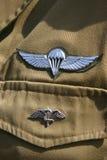 Spadochroniarza IDF Obrazy Royalty Free