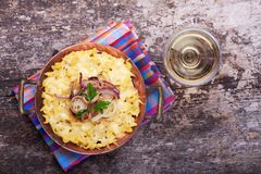 Spaetzle Royalty Free Stock Photography