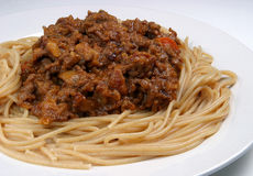 Spag Bol' Royalty Free Stock Photography