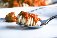 spagetti вилки Стоковая Фотография RF