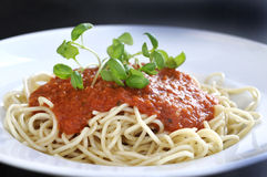 spagetti στοκ φωτογραφία με δικαίωμα ελεύθερης χρήσης