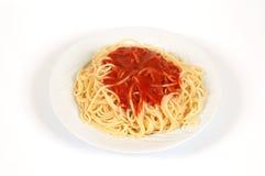 spagetti Arkivbilder