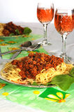 spagetti Стоковое Фото