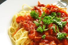 spagetti fotografering för bildbyråer