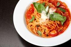 spagetti Royaltyfria Foton