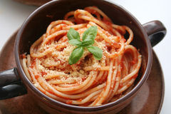 Spagetti Royalty Free Stock Photography