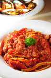 Spagetti bolognese Royalty Free Stock Images