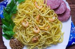 Spagetti Del Klacz Fotografia Stock