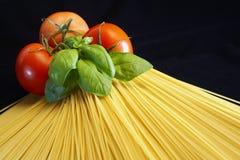 spagetti långt arkivfoto